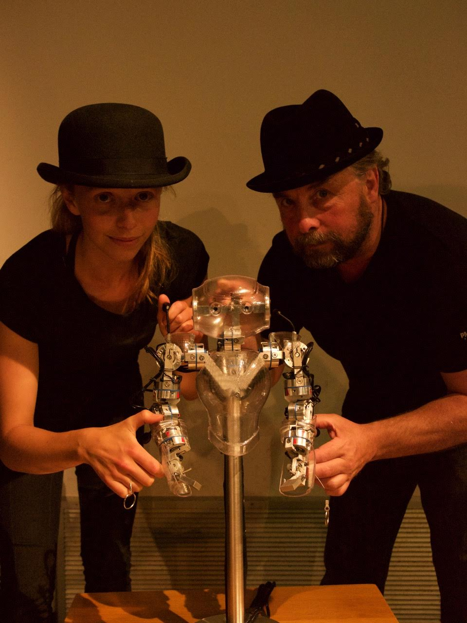 Photo: Todd and Lillian: Puppeteers